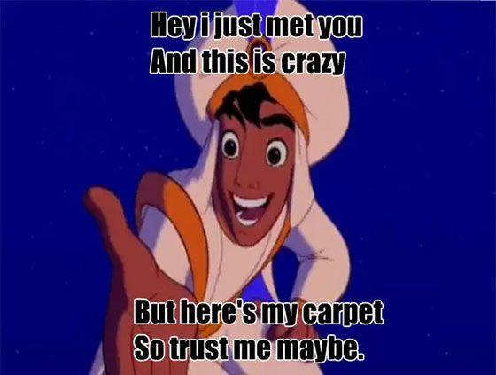 Funny Disney World Meme : Aladdin jokes and memes only longtime disney fans will