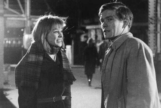 #Sixties   Julie Christie and Tom Courtenay in Billy Liar, 1963