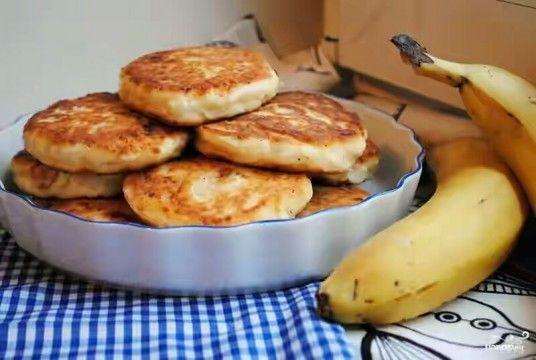 Сырники с бананом - простейшее в приготовлении и очень питательное : CucTemKa