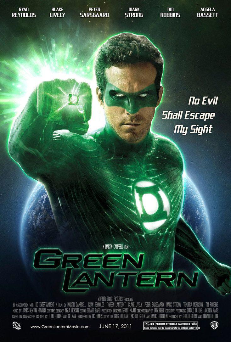 Green Lantern - I loved this movie.