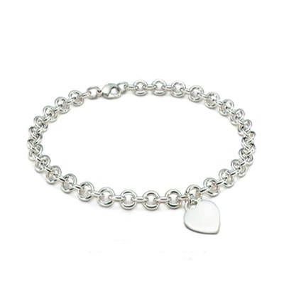 Tiffany ; Co Heart Charm Necklace Jewelry#tiffany #necklaces