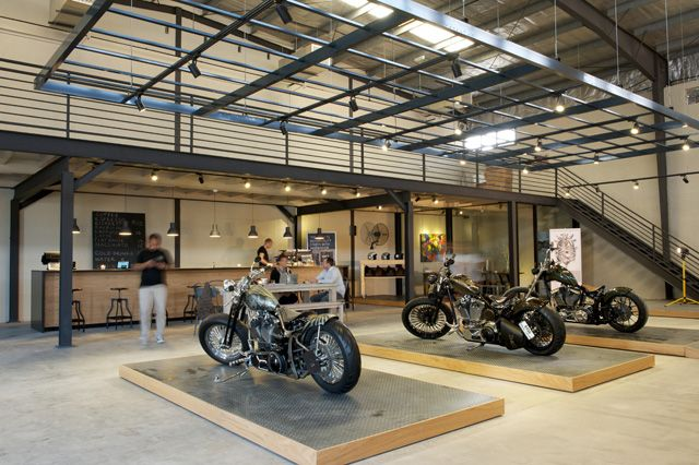 Caf Rider Rider Custom Raw Interior Custom Motorcycles Dubai