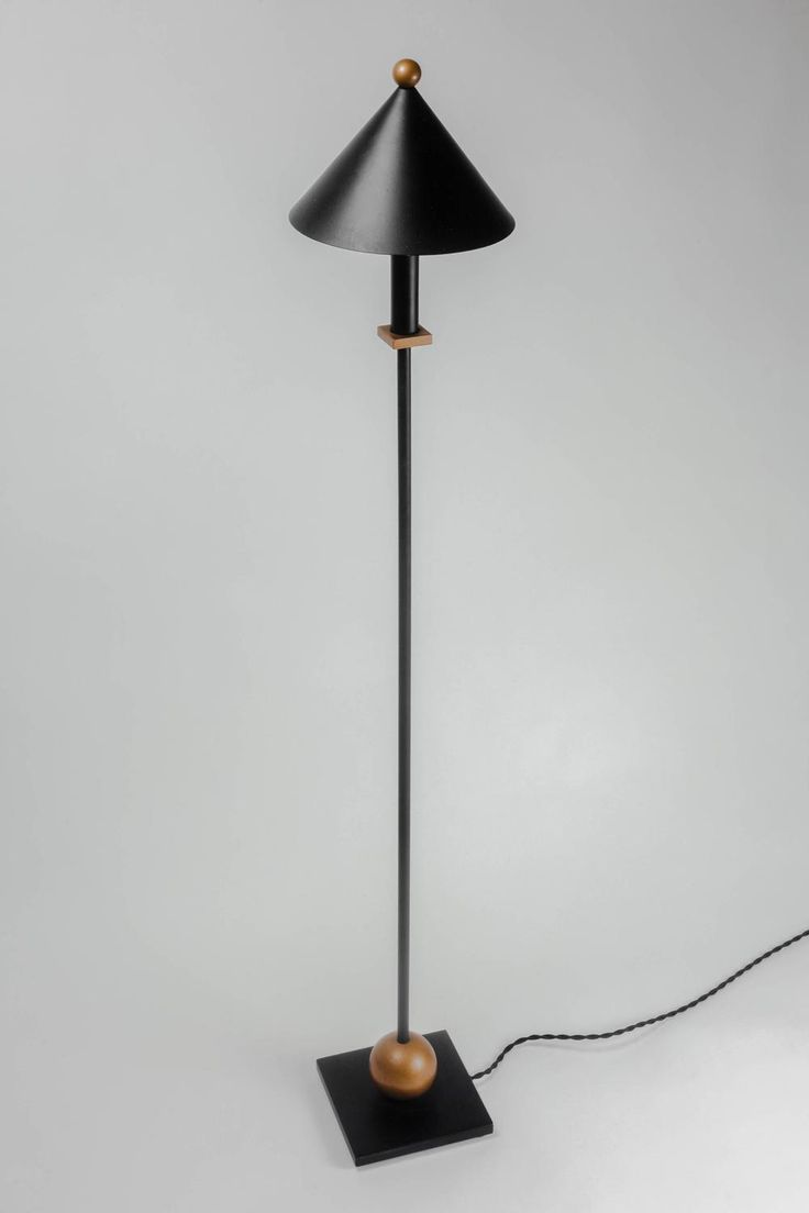 Vintage brass and marble three arm arc floor lamp at 1stdibs - Floor Lamp By Robert Sonneman For Kovacs Metal In Black And Gold 1980s
