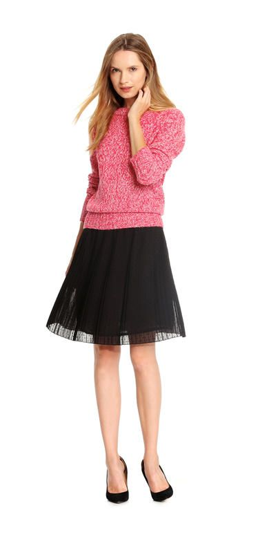 #2 Skirt Choice. Dot Pleat Skirt from Joe Fresh. Polka dots and pleats make the perfect chic pair.  Only $34. Medium.
