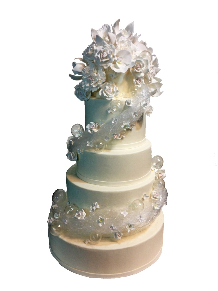 sugar bubble wedding cake spun sugar and bubbles in classic wedding style wedding 20564