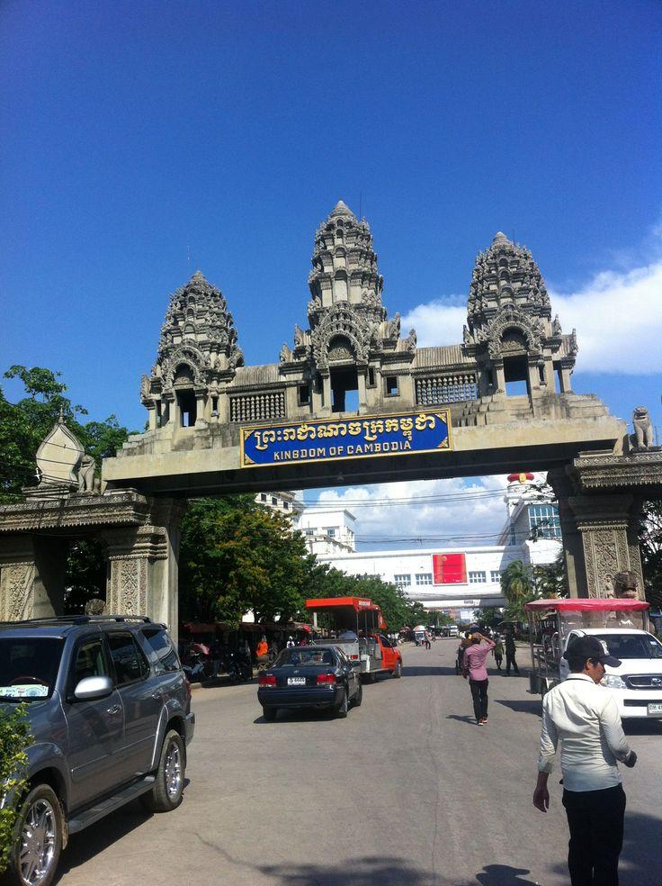 Aranyaprathet - Poipet Border in อรัญประเทศ, จังหวัดสระแก้ว -Thailand #thailand #cambodia