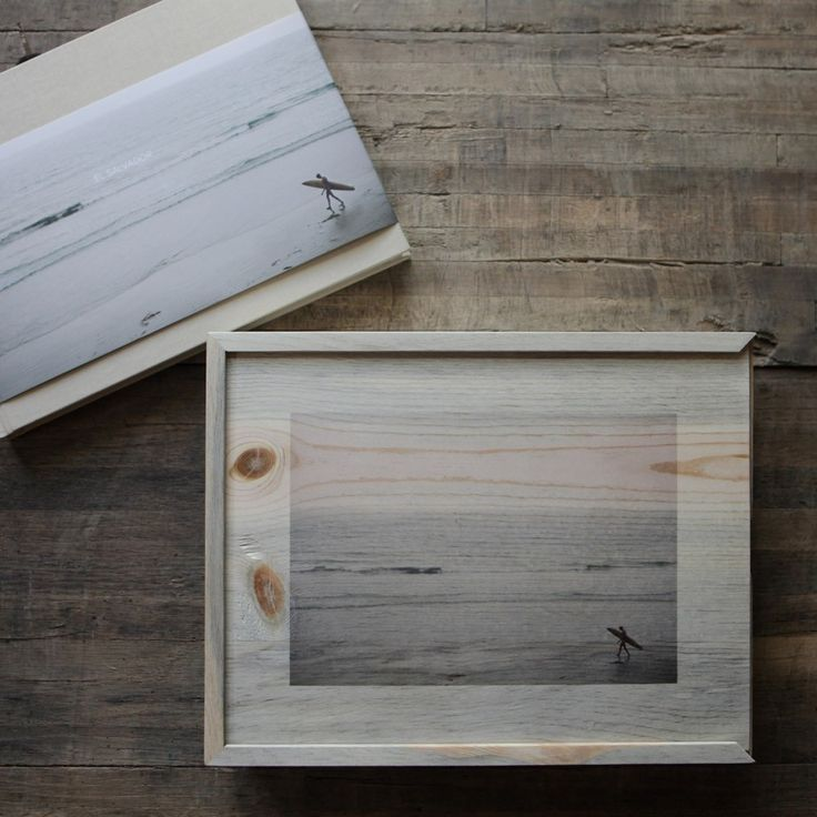 The perfect home for your photo books or prints. Our wooden box features a customizable printed lid with your choice of text or an image. Best part? The box is handcrafted with beetle pine reclaimed our Colorado forests.