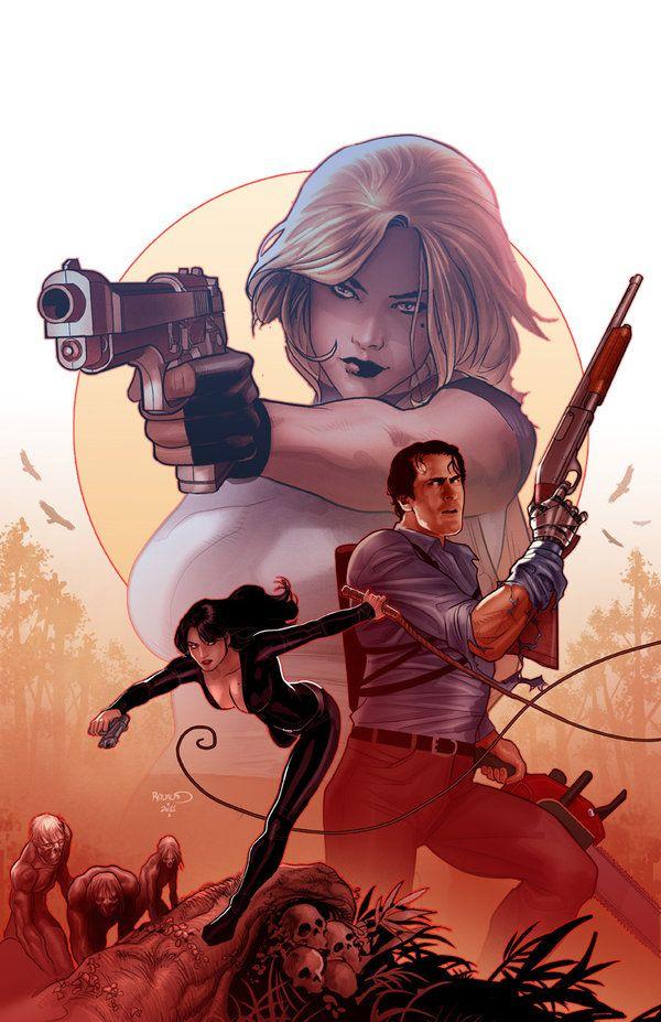 Danger girl Army of Darkness 3 by PaulRenaud.deviantart.com on @deviantART