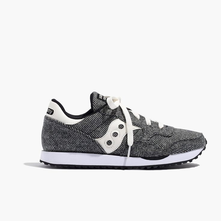 Madewell X Saucony Dxn Trainer Sneakers In Herringbone