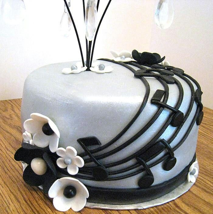 Cake Design Musical Notes : Music note cake 18th birthday?!?! Yum! Pinterest ...