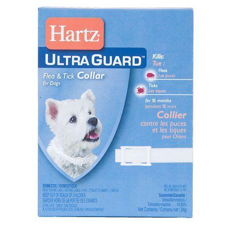 Hartz Ultraguard Flea & Tick Collar For Dogs Fleas