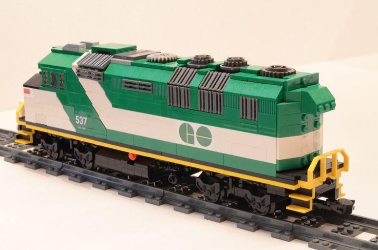 Lego GO Train F59PH Locomotive | by michaelgale