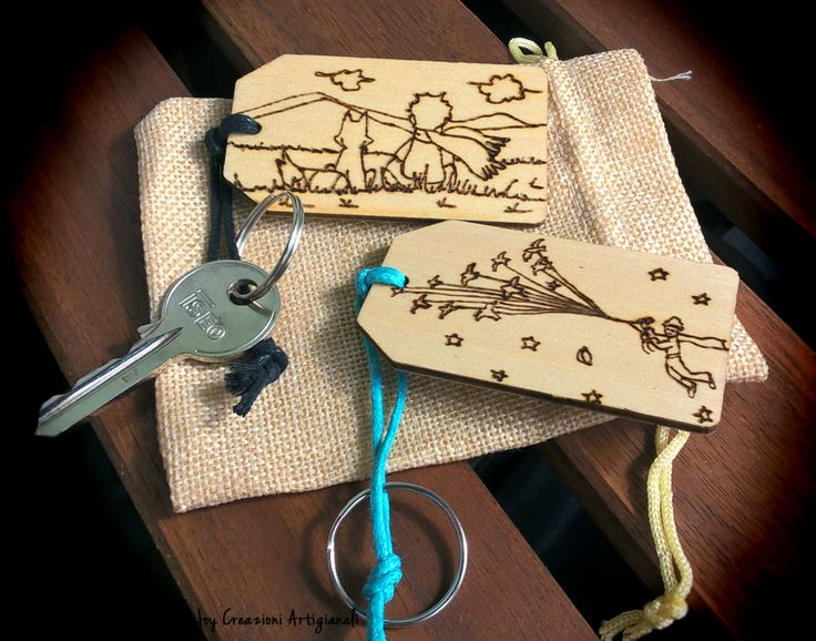 The little prince quote / Le petit prince quote personalized engraved wooden…