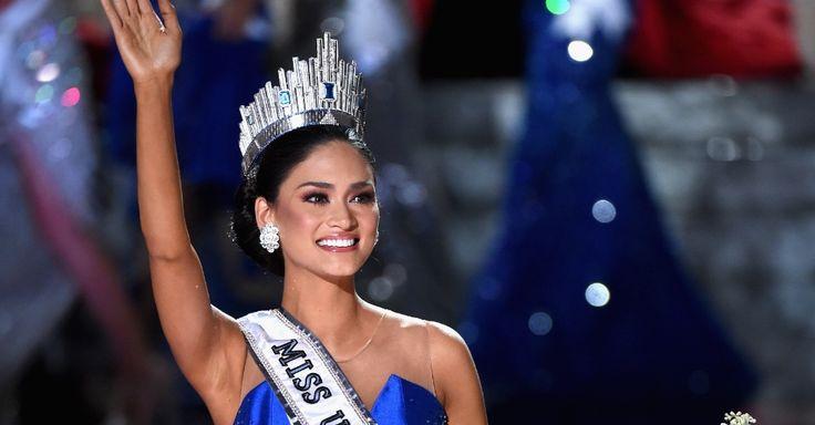 20151221 - Após erro no anúncio, a filipina Pia Alonzo foi coroada Miss Universo 2015. PICTURE: Ethan Miller/AFP