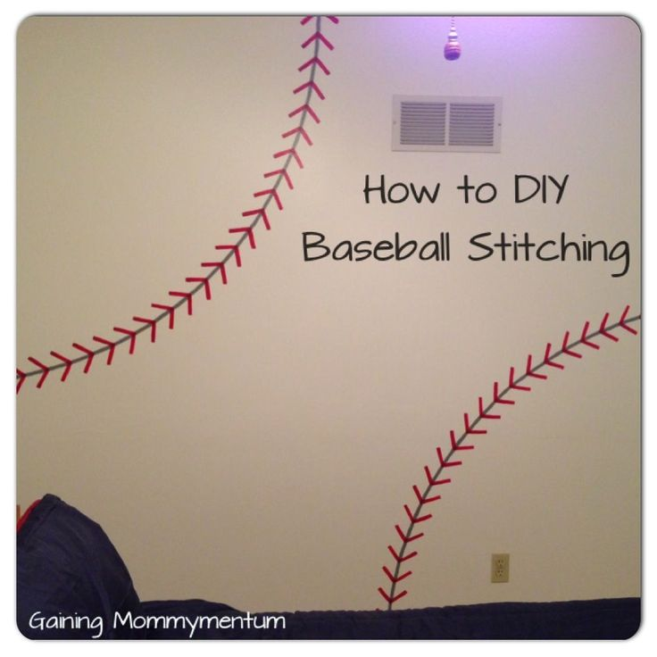 I am SO excited to share this with you! I actually worked on this little project back in December but am just now getting around to posting it. Forgive me. I have seen this kind of baseball stitchi…