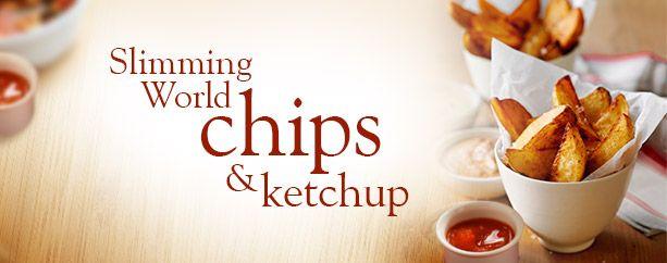 Slimming World chips and ketchup - Recipes - Slimming World