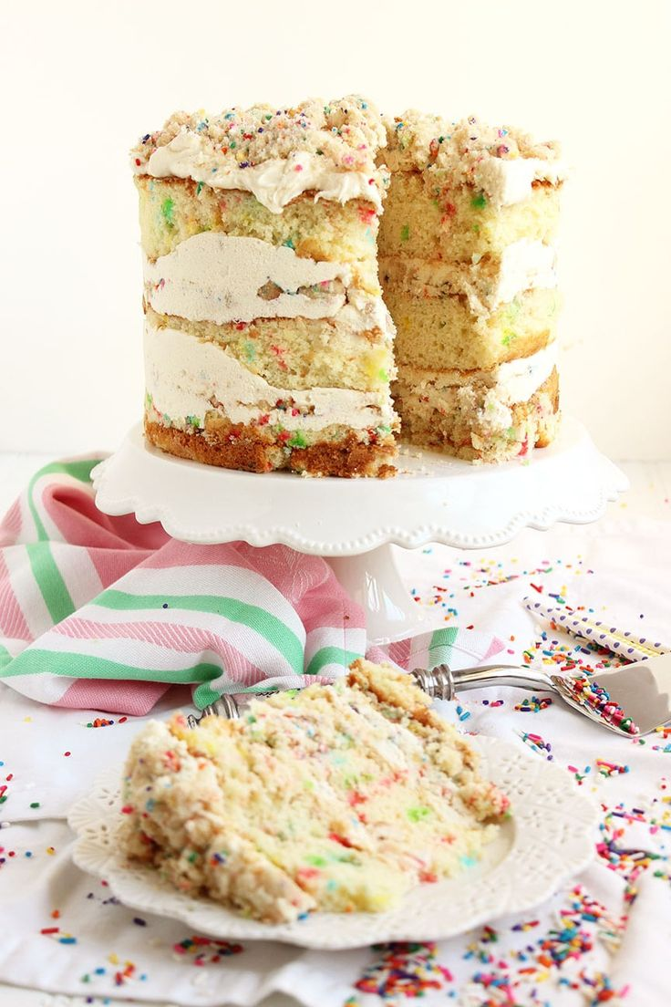 FunfettiCake3 Cake recipes, Milk bar birthday cake