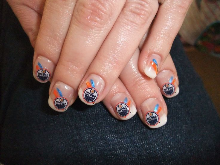 Oilers nails