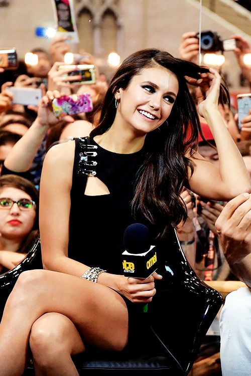 Nina Dobrev at the Comic Con Experience 2016 - Omelete Interview in São Paulo, Brazil on December 1st, 2016
