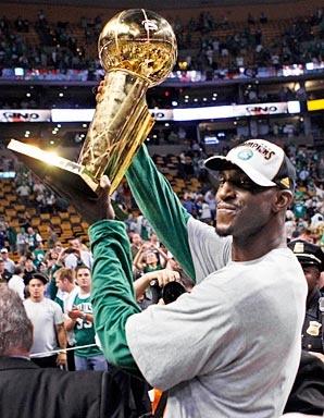KG of the Boston Celtics