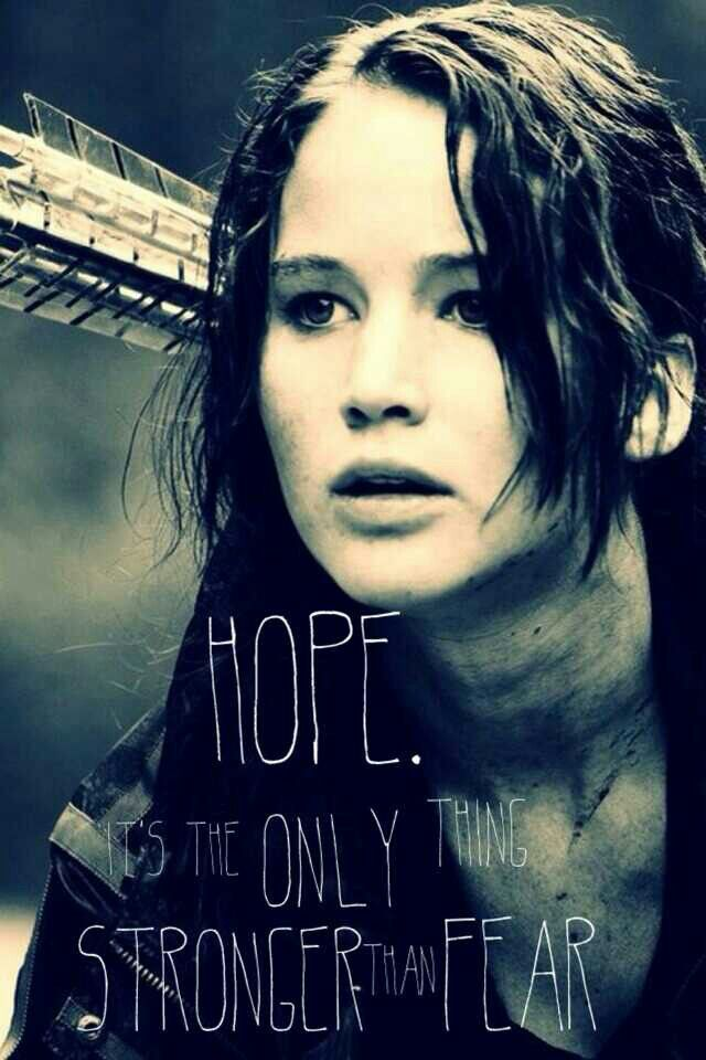 snow she is hope and no one can let go of her no matter what