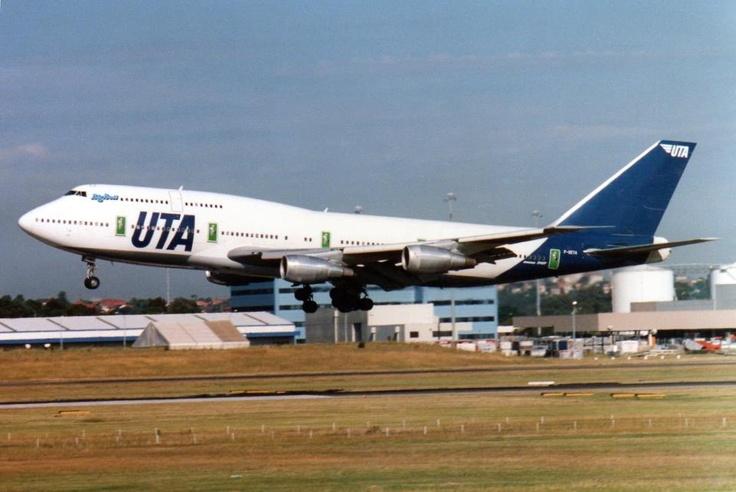 UTA French Airline B 747 300 Aviation Pinterest