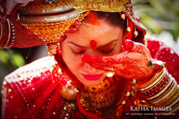 Indian wedding - Nepali bride