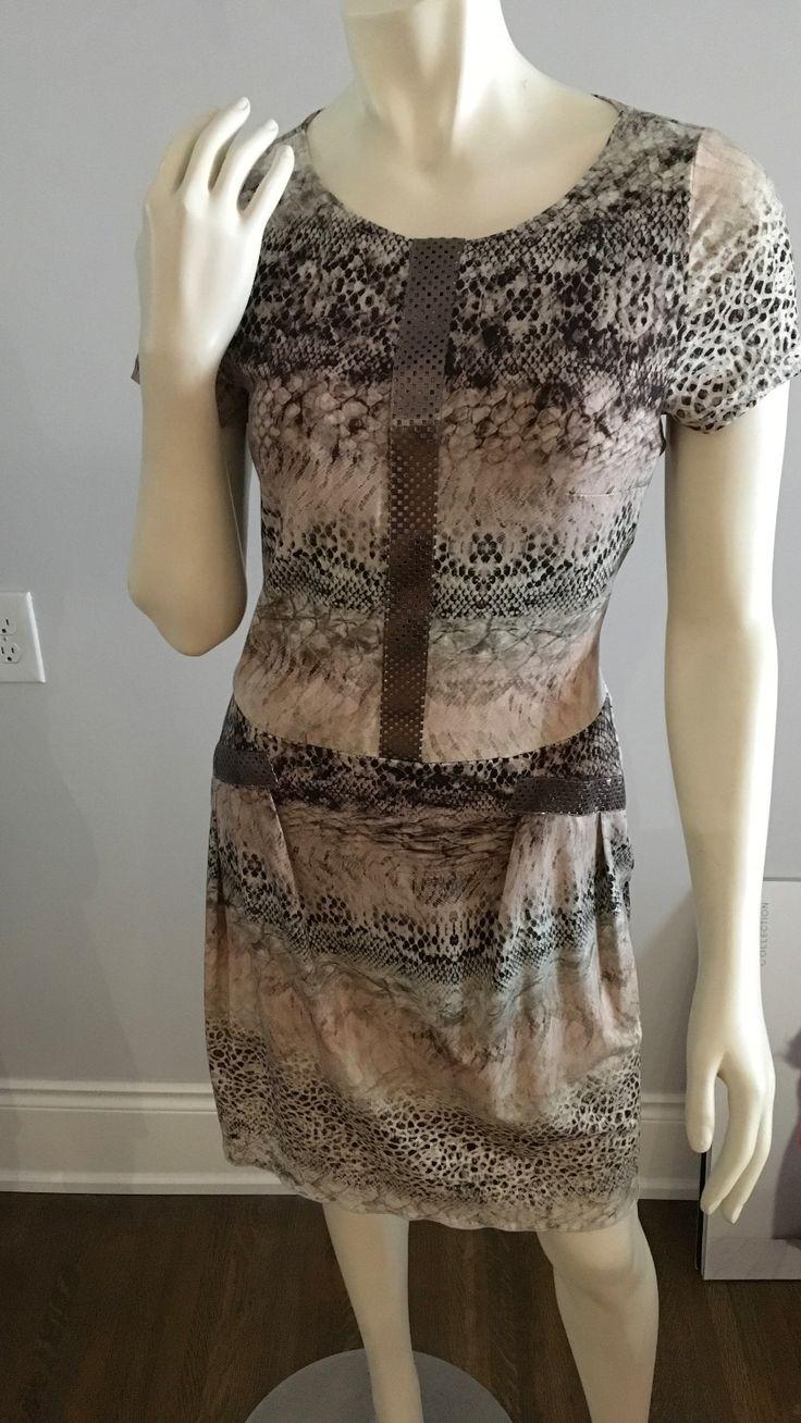 Snake Print Dress SL2616