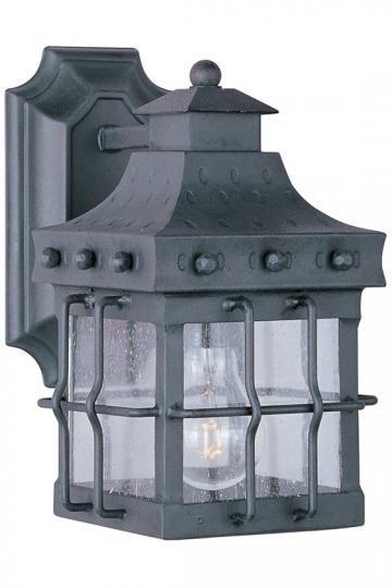 Rustica Straight Mount Outdoor Wall Lantern - Outdoor Wall Lantern - Outdoor Wall Lighting - Outdoor Wall Lights | HomeDecorators.com