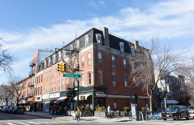 After a brief stint in Queens, the couple found their lovely Brooklyn apartment in Clinton Hill.