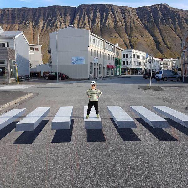 El experimento se convirtió en una visita turística en el pueblo islandés (Linda Björk Pétursdóttir)