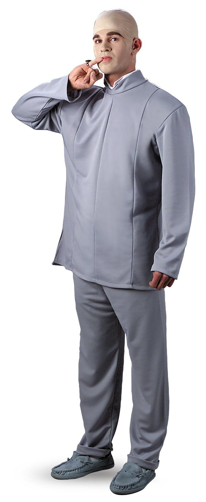 Austin Powers Dr. Evil Deluxe Plus Adult Costume from BuyCostumes.com