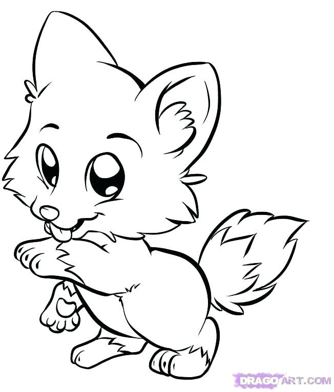 Arctic Wolf Colouring Pages Children Coloring Cute Wolf Coloring