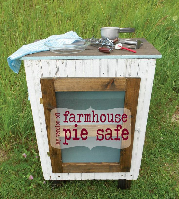 Diy Pie Safe Plans Woodworking Projects Amp Plans