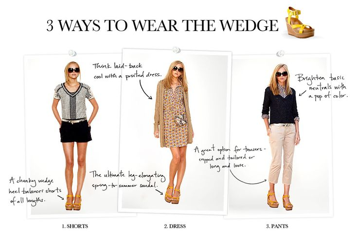 more on the brenden wedge—love the versatility and the yellow