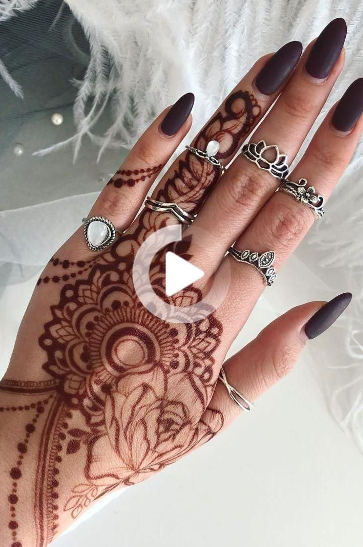 32 Free Henna Tattoo Design You Can Do Best Henna Drawings At Home New 2019 Page 9 Of 32 In 2020 Henna Tattoo Designs Henna Tattoo Henna Tattoo Sleeve