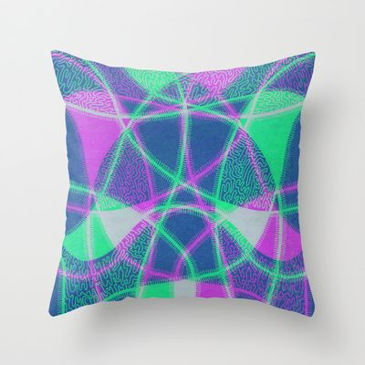 Sanity Throw Pillow by Vanya Vasileva - $20.00 http://society6.com/vanyavasileva/