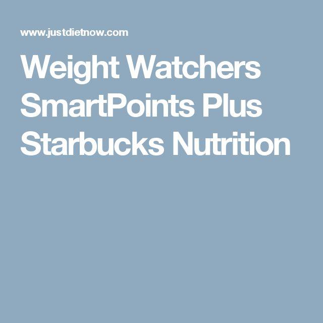 Weight Watchers SmartPoints Plus Starbucks Nutrition