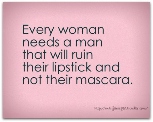 not their mascara