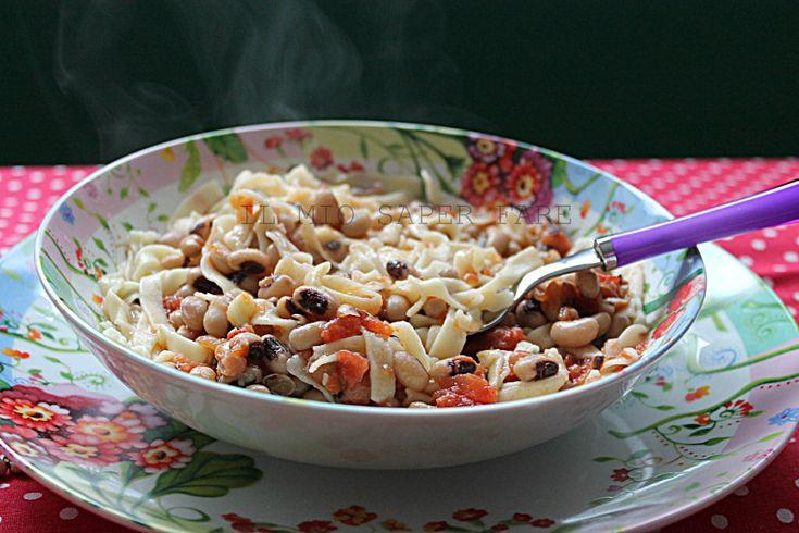 Lagane e fagioli ricetta facile il mio saper fare