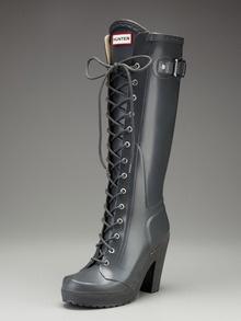 lapins high heel rain boothunter boot at gilt  high