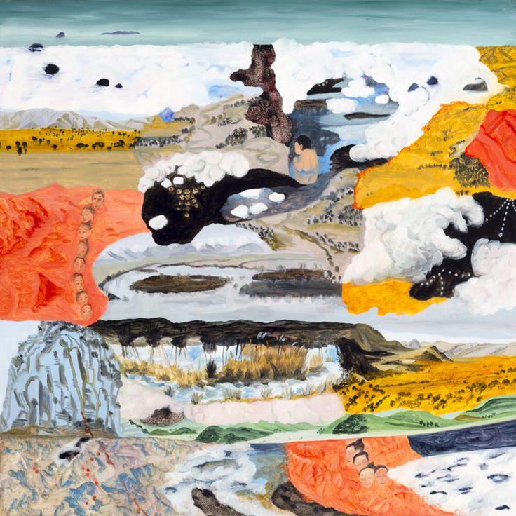 Barbara Tuck, Dipping Mortal, 2014