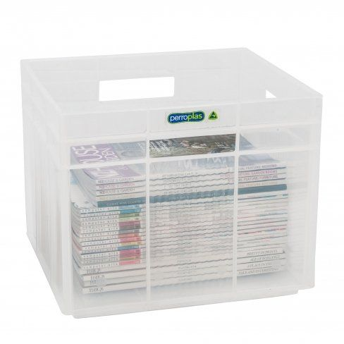 Cube 30L Stackable Tint Clear