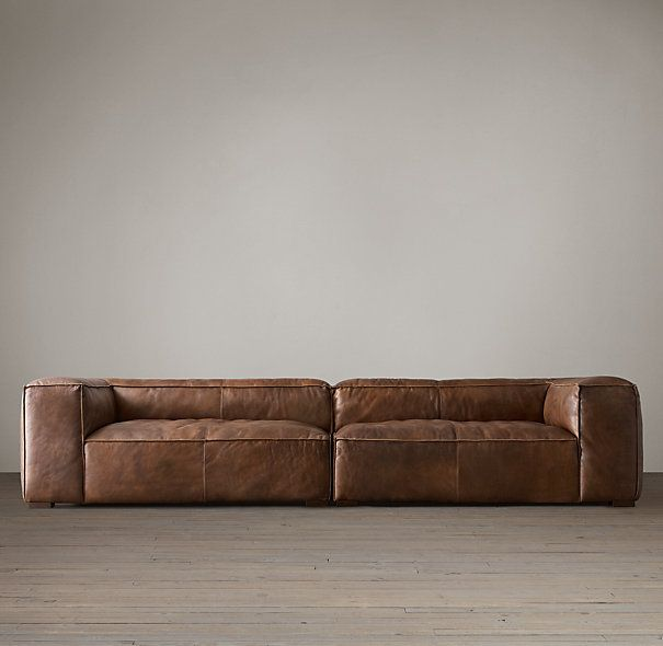 Fulham Leather Daybed RESTORATION HARDWARE - I LOVE THIS