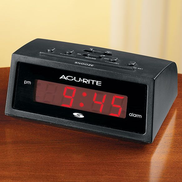ACURITE  -  Self Setting Alarm Clock - Zoom
