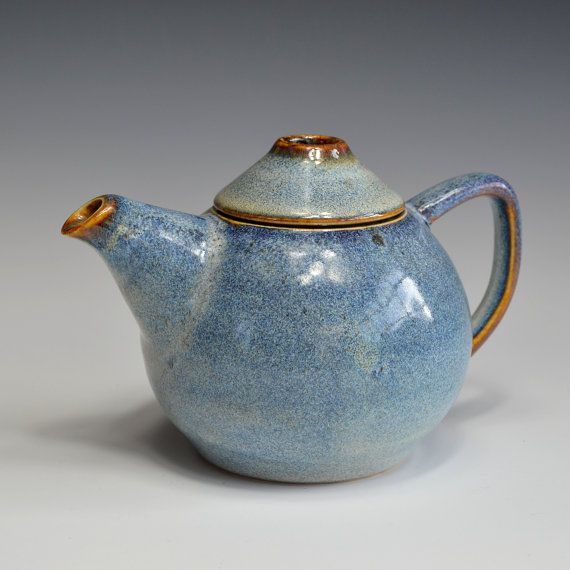 Tea for 2. Small teapot in porcelain