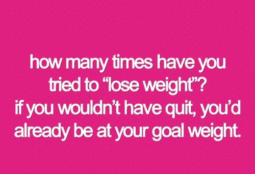 Yep... That's why I'm not quitting this time!!