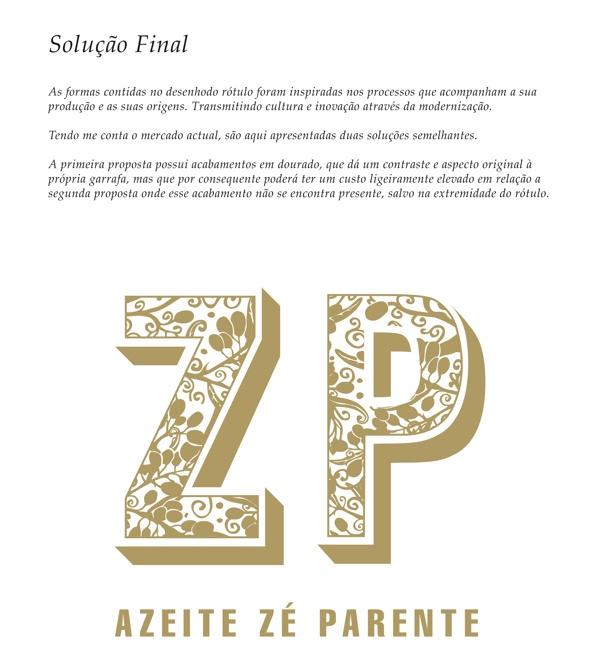 Azeite Zé Parente by Claudio Coutinho, via Behance