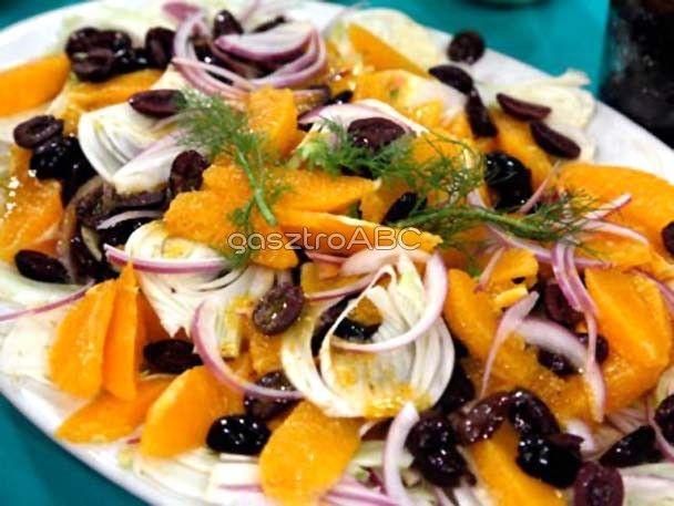 Narancsos olajbogyó-saláta | Receptek | gasztroABC