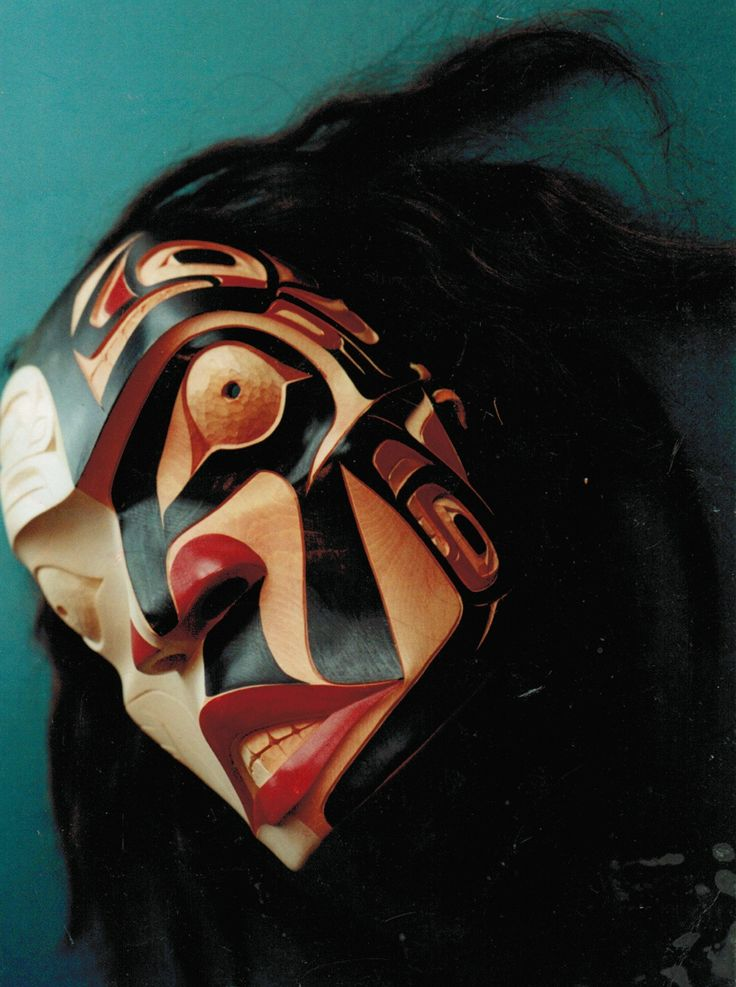 Half Breed Mask by Sanford Williams